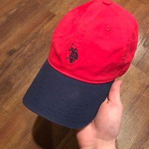 db72b2233 U.S. Polo Assassin Hat Red/Blue NEW
